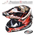 Casco moto cross Suomy Rumble Eclipse red off road helmet