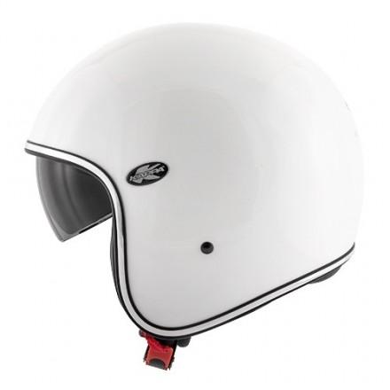 Casco jet vintage retro scrambler Kappa Kv29 Philadelphia bianco perla cafe racer helmet
