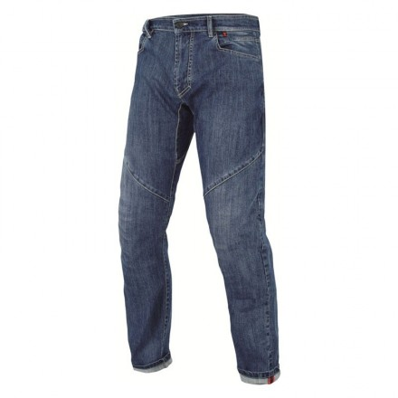 Jeans pantalone moto Dainese Connect Regular Blu Denim pant