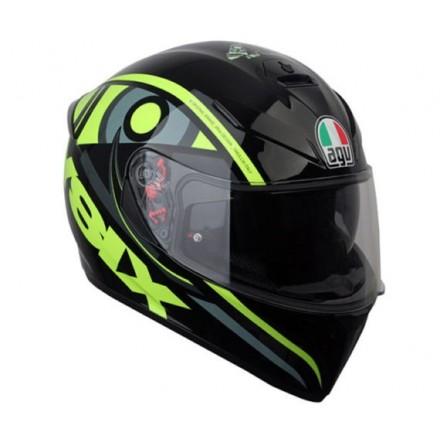 Casco integrale moto Agv K3 Sv Valentino Rossi Solun 46 vr46 sole luna helmet