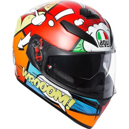 Casco integrale moto Agv k-3 K3 sv Balloon helmet casque