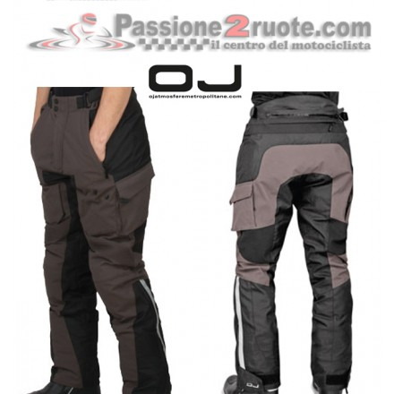 Pantaloni moto triplo strato adventure touring Oj Desert Evo Smoke pant trouser