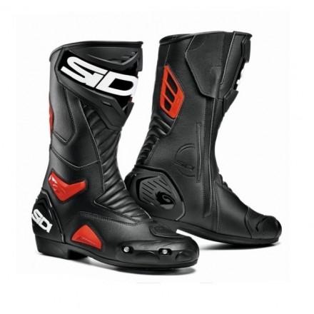 Stivali stivale racing pista corsa moto Sidi Performer nero rosso boots