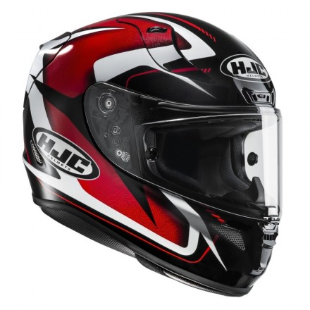 Casco integrale moto Hjc Rpha 11 Bludom nero rosso black red Mc1 Helmet casque