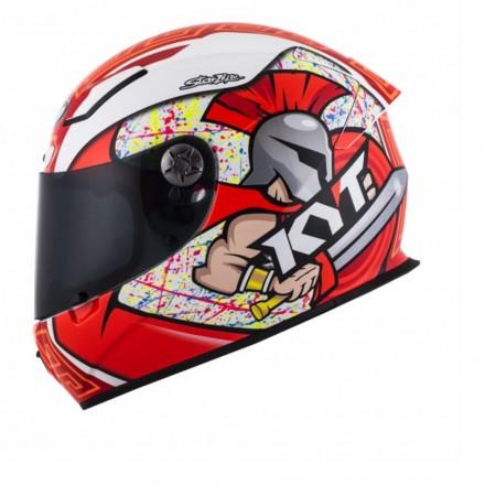 Casco integrale fibra carbonio moto KYT Kr-1 Simone Corsi helmet casque