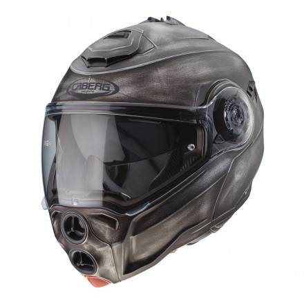 Casco modulare apribile moto Caberg Droid Iron Flip up Helmet casque