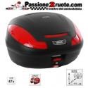 Bauletto valigia posteriore moto scooter Givi E470 n top case