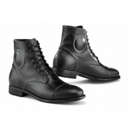 Scarpe moto scooter Tcx Metropolitan nero black urban classic city shoes