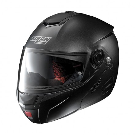 Casco modulare apribile moto N90-2 Special Nero Black Graphite 9 Ncom flip up helmet casque