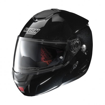 Casco modulare apribile moto Nolan N90.2 Special Nero Metal Black 12 Ncom flip up helmet casque