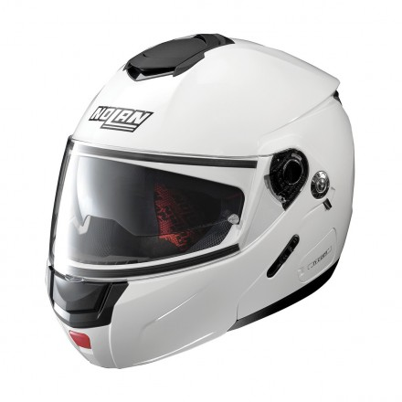 Casco modulare apribile moto N90-2 Special Bianco Pure white 15 Ncom flip up helmet casque