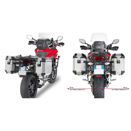 Telai Laterali Givi PLR7406CAM Ducati Multistrada 2015 side case holder