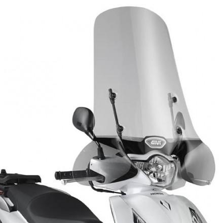 Parabrezza givi 1117A+ A1117A Honda SH 125i-150i abs 12-16