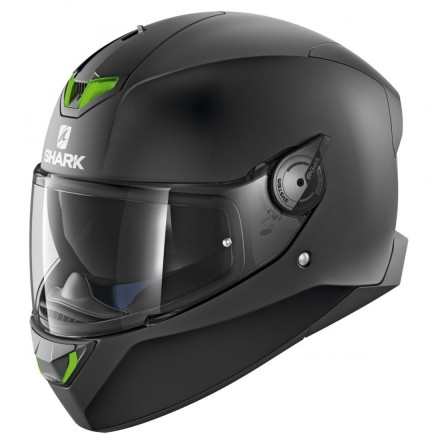 Casco integrale moto Shark Skwal 2 nero opaco black matt helmet casque