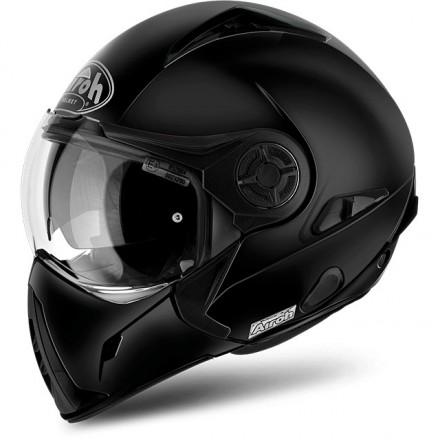 casco modulare airoh j106 nero opaco mat black moto helmet