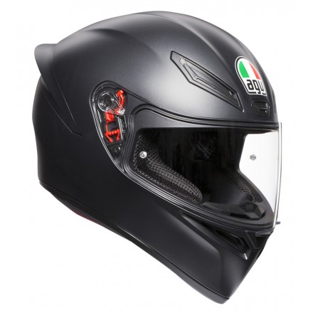 Casco integrale Agv K1nero opaco Black Matt helmet