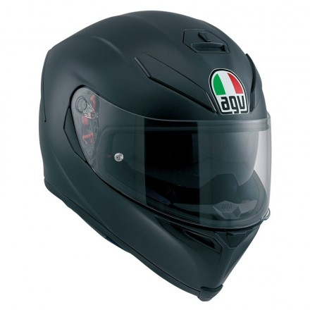 Casco integrale moto Agv K-5 s pinlock nero opaco Matt Black helmet