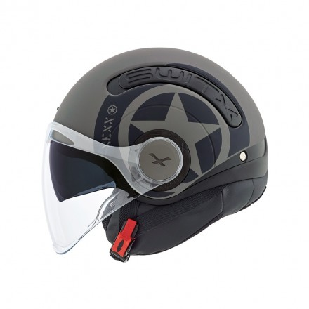 Casco jet moto scooter Nexx Sx10 Hero Concrete Mt helmet casque