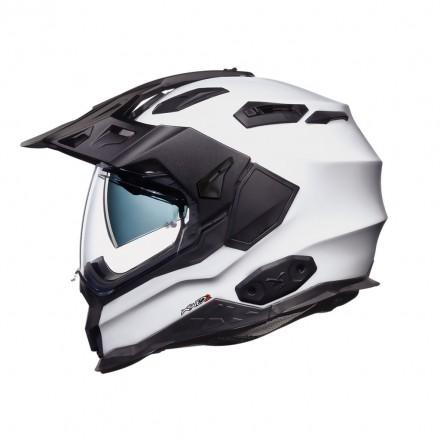 Casco integrale touring adventure Nexx Xwed2 white helmet casque