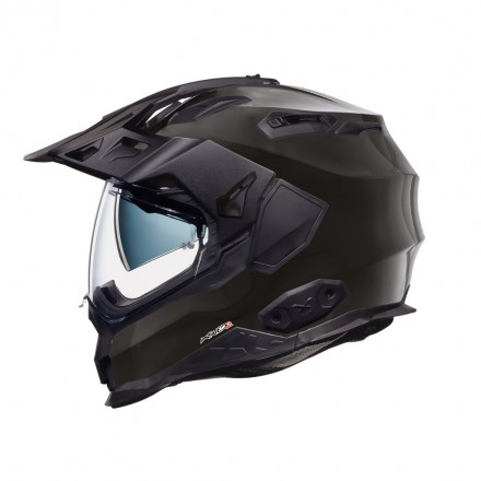 Casco integrale touring adventure Nexx X.Wed 2 nero lucido helmet casque