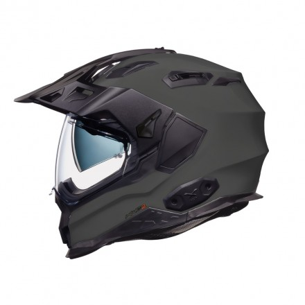 Casco integrale touring adventure Nexx X.Wed 2 grigio concrete helmet casque