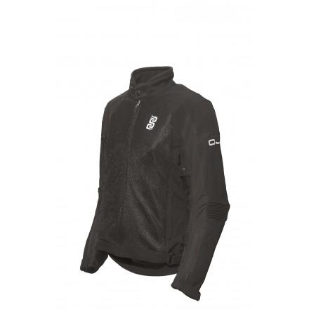 Giubbino giacca donna moto estiva traforata Oj Sintesi lady summer perforated mesh jacket