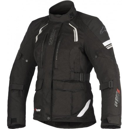 Giacca moto donna turismo 4 stagioni Alpinestars Stella Andes V2 Drystar Nero all seasons touring jacket