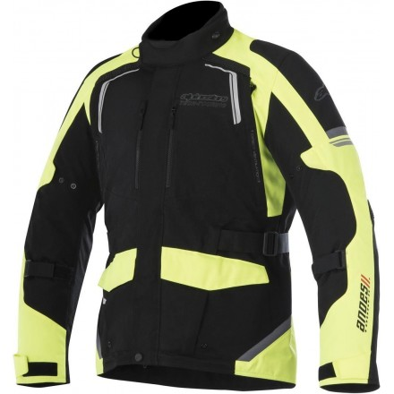 Giacca moto touring 4 stagioni Alpinestars Andes V2 Drystar nero giallo fluo black yellow fluo all weather jacket