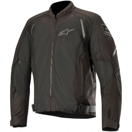 Giacca moto estiva traforata Alpinestars Wake Air nero Black summer mesh jacket