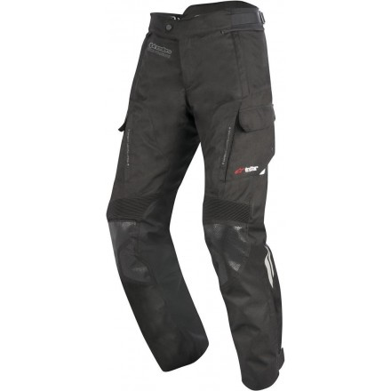 Pantalone moto touring 4 stagioni Alpinestars Andes V2 Drystar nero black all weather pants