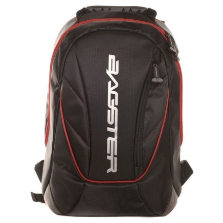 Zaino 16 litri Bagster Venom nero rosso black red XSD161 Backpack
