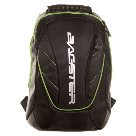 Zaino 16 litri Bagster Venom nero verde black green XSD169 Backpack