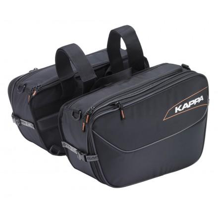 Borse Valigie laterali morbide moto universali 16-25 litri Kappa LH202 soft side bags