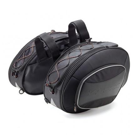 Borse Valigie laterali morbide moto universali 17-30 litri Kappa RA310 soft side bags