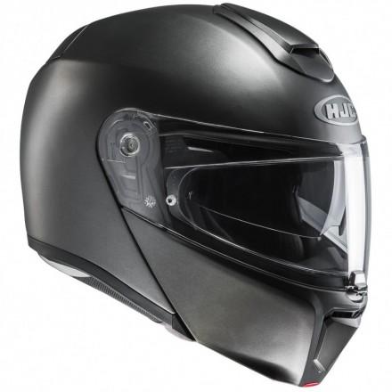 Casco modulare apribile fibra moto Hjc Rpha 90 titanium semi flat titanium flip up Helmet casque