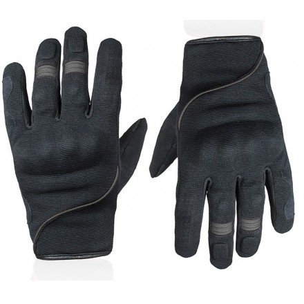 Guanti moto scooter primavera estate Chaft Splash nero grigio black grey gloves