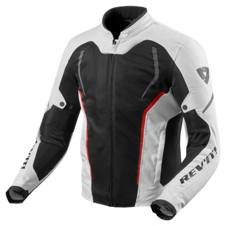 Giacca estiva moto Rev'it GT-R Air 2 bianco Nero white black summer jacket