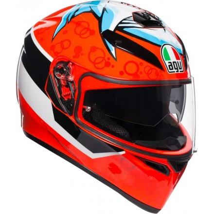 Casco integrale moto Agv K-3 Sv Attack Helmet