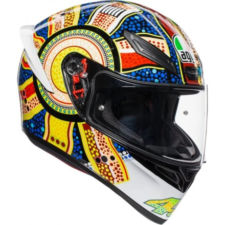 Casco integrale moto Agv K-1 Valentino Rossi Dreamtime helmet