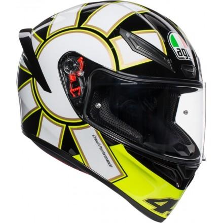 Casco integrale moto Agv K-1 Valentino Rossi Gothic 46 helmet