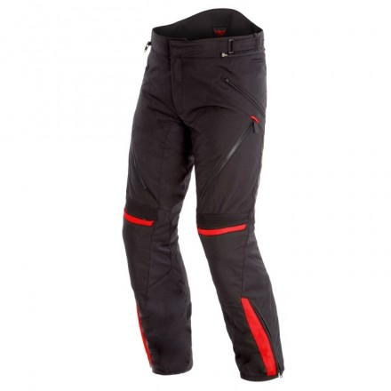Pantaloni moto impermeabile Dainese Tempest 2 D-dry nero rosso black tour red waterproof pants