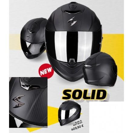 Casco integrale carbonio moto Scorpion Exo 1400 Carbon opaco matt helmet casque