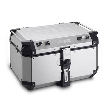Top Case Valigia Bauletto posteriore alluminio Givi Trekker Outback 58 lt OBKN58A