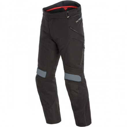 Pantaloni moto touring adventure 4 stagioni Dainese Dolomiti Goretex nero grigio black ebony 4 seasons trousers pants