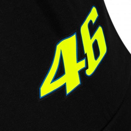 Felpa Vr46 Valentino Rossi moto gp The Doctor 46 VRMFL305604 nero black hoodie sweatshirt