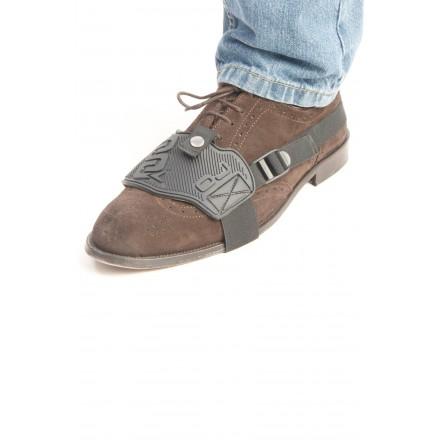 Elastico regolabile Aggancio veloce con bottone Salva scarpa da montare direttamente sulla scarpa in gomma