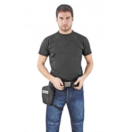 M100 Mini Track marsupio da gamba con cover impermeabile inclusa ed inserti riflettenti leg bag