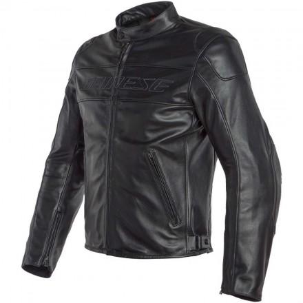 Giacca pelle moto Dainese Bardo nero black leather jacket