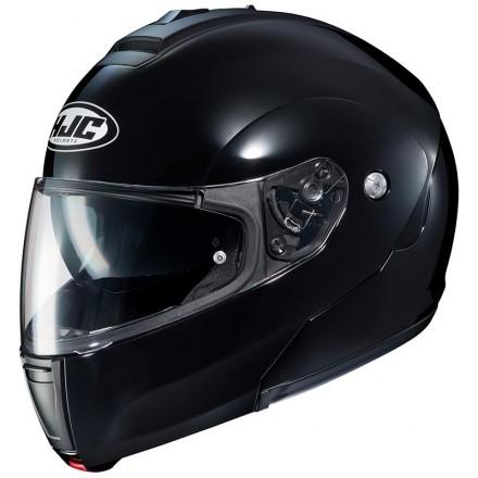 Casco modulare apribile Hjc C90 nero lucido black flip up helmet casque