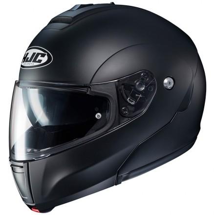 Casco modulare apribile Hjc C90 nero opaco matt black flip up helmet casque